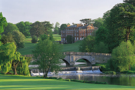 View of Brockett Hall from the 16th Green, Melbourne Course
