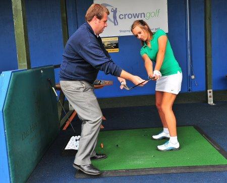Crown Golf Ladies Start To Play