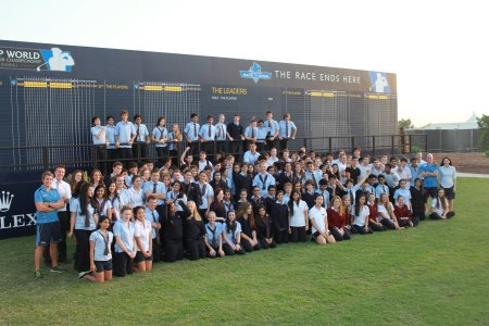 Over 100 Dubai students swap the classroom for the golf course