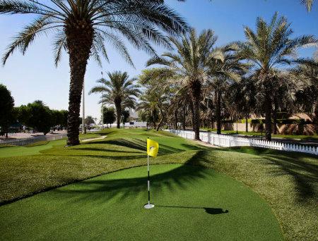 Harradine UAE putting course