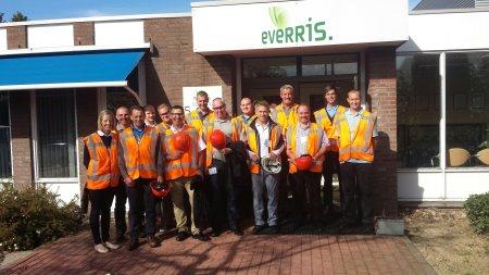 Greenkeepers visit Heerlen factory