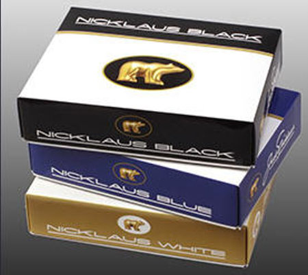 Nicklaus golf ball boxes