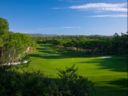 Quinta do Lago North Course from behind 18th Green
