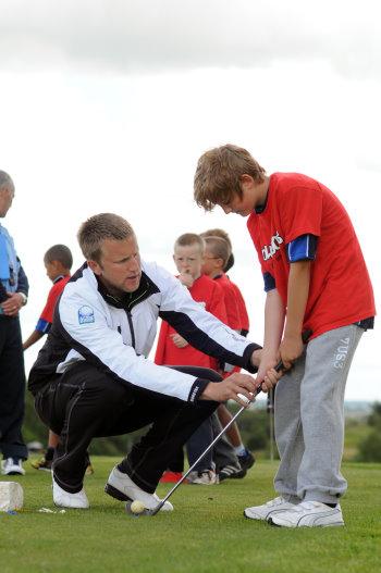 Pro coaching child