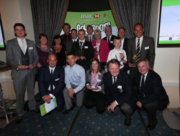 Proud winners at the 2013 Awards