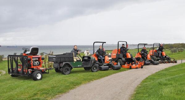 Some of the new fleet at Rya Golfklubb