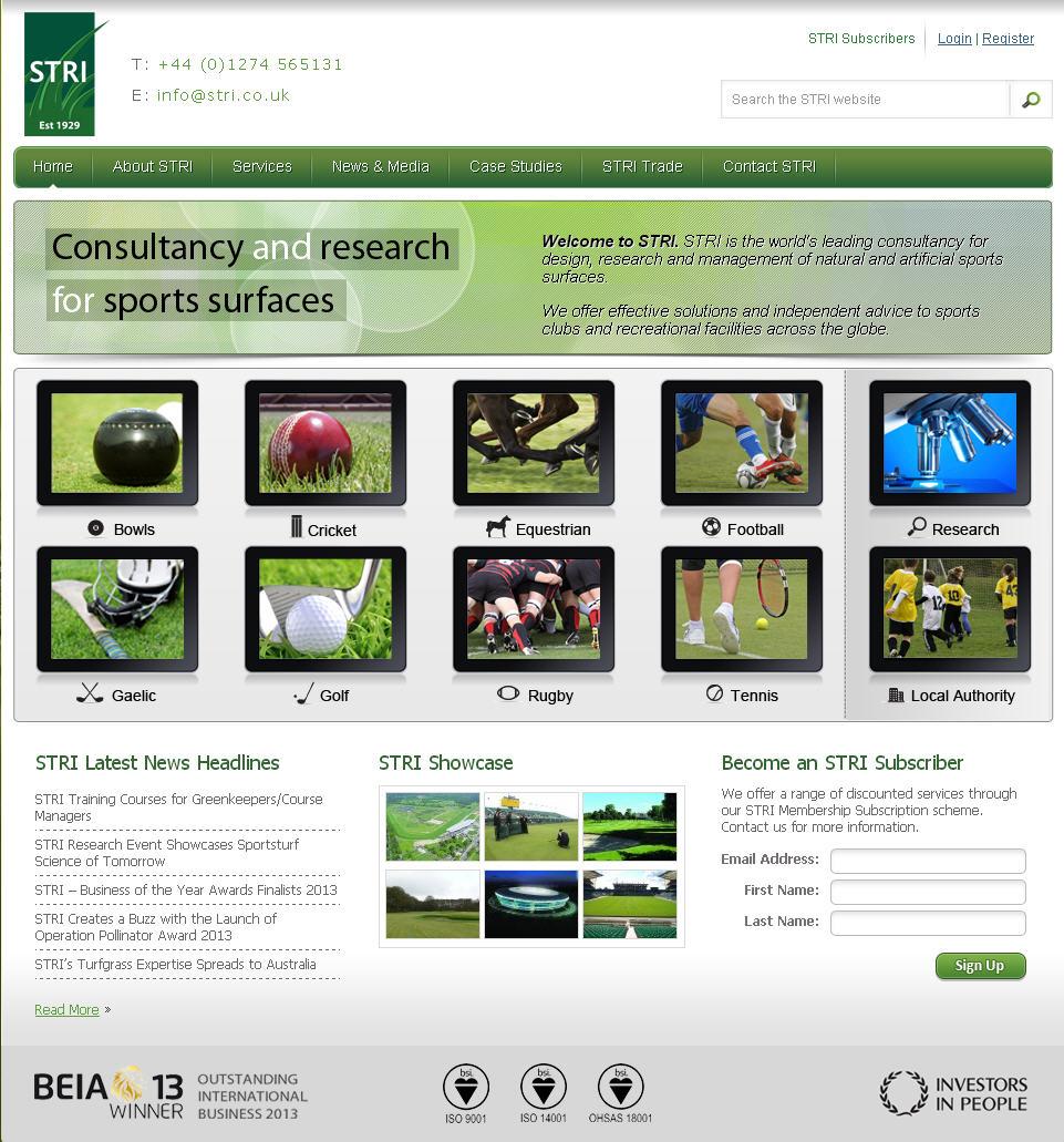 STRI website