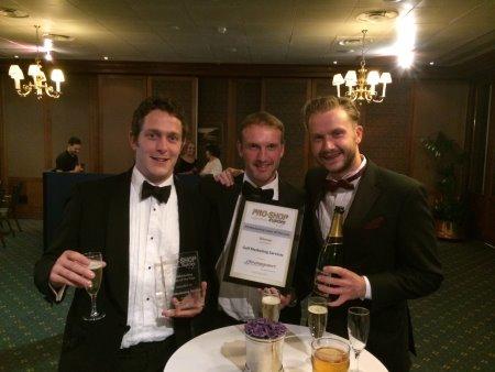 (l-r) Adam Roberts. Phil Craghill and Sam Elder