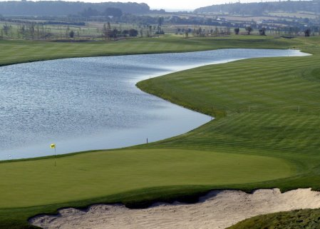 The Heritage Ballesteros Course 9th and 18th Hole Landscape
