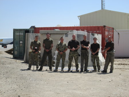 american golf supports Camp Bastion