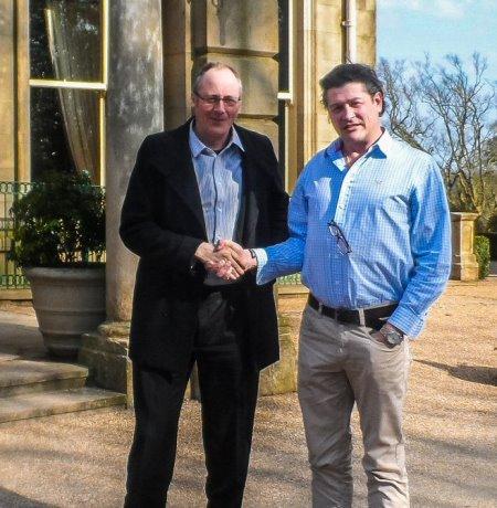 Bruce Weller (left) and Neil Kimberley
