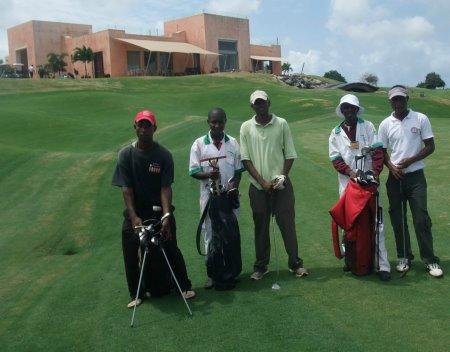 Caddy Competition,  Vipingo Ridge Golf Resort, Kenya