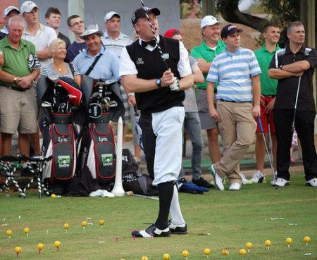 Golf trick-shot star Dean Davis
