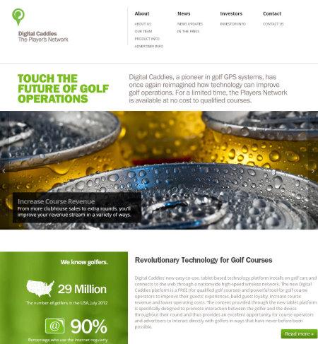 Digital Caddies website