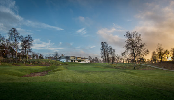Falkenberg's 18th which has been remodelled by Caspar Grauballe