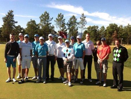 Finish National team at PGA Catalunya Resort