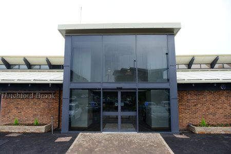 The new Hatchford Brook club house