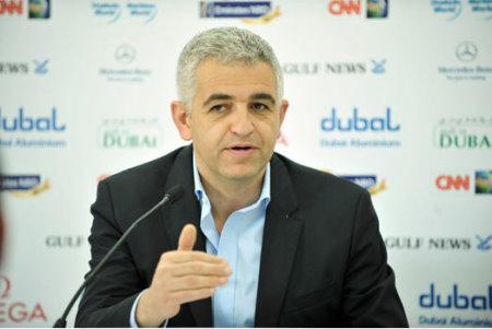 Image Ladies European Tour Chief Executive Officer Ivan Khodabakhsh