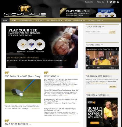 Nicklaus website
