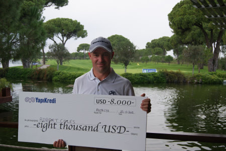 Robert Coles wins PGAs of Europe Beko Classic