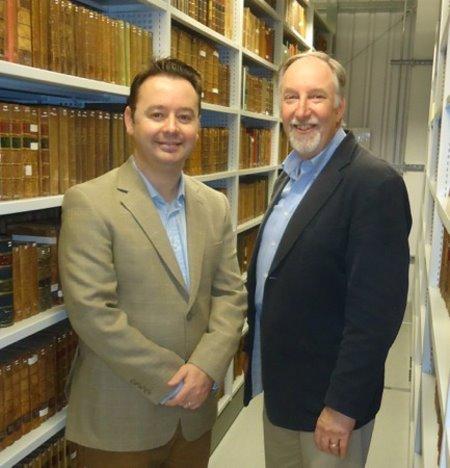 Roger McStravick (left) and Dr Anthony Parker