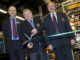 Opening of BTME 2014 (from left) Jim Croxton, Tony Smith and Chris Sealey