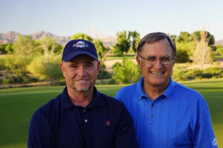 Brian Curley (l) & Lee Schmidt