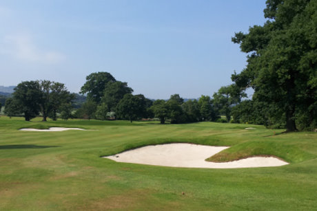 The Filly Course at Close House – new fairway bunkers and greens complex on 1st hole