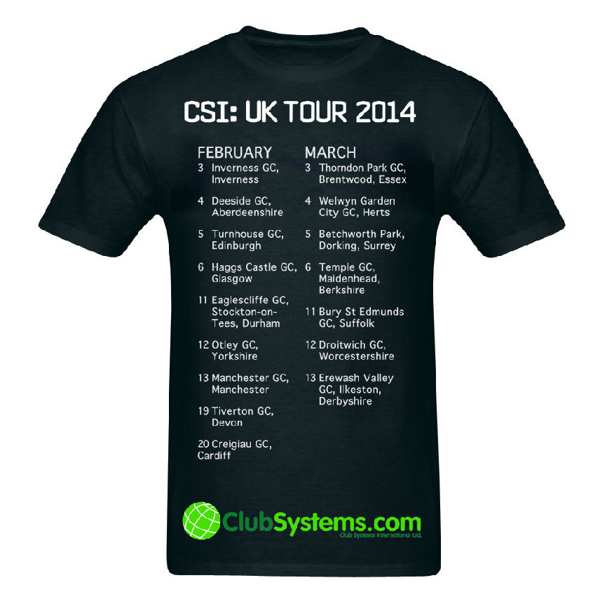 Club Systems TShirt sng