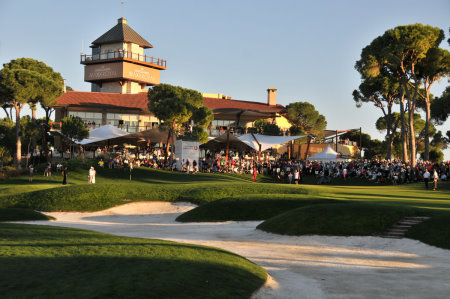 Crowds gather at The Montgomerie Maxx Royal