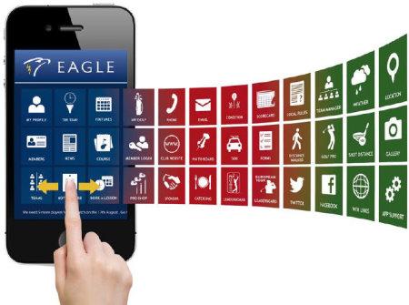 Eagle App homescreen