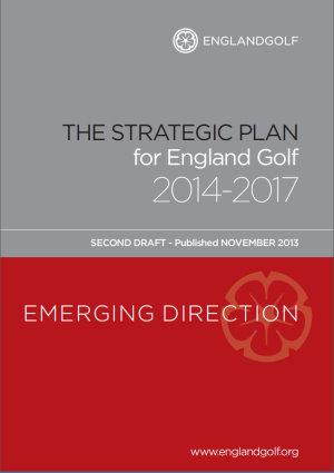 England Golf Strategic Plan second draft