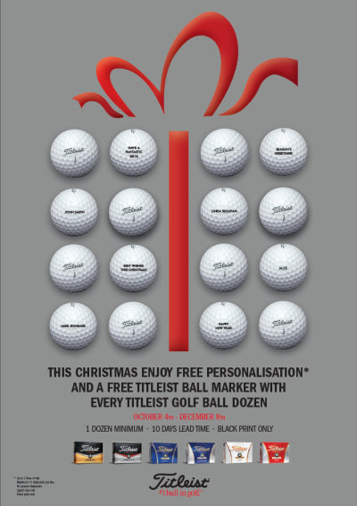 Foremost Titleist promotion