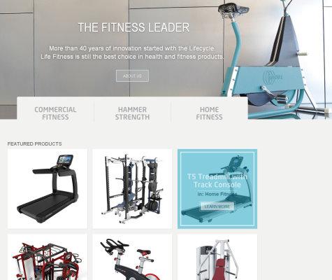 Life Fitness website
