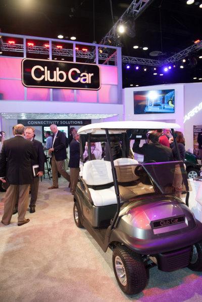 PGA Merchandise Show 2014 Club Car booth
