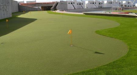 Part of the Impressive New Huxley Golf Practice Facilities at Club La Santa