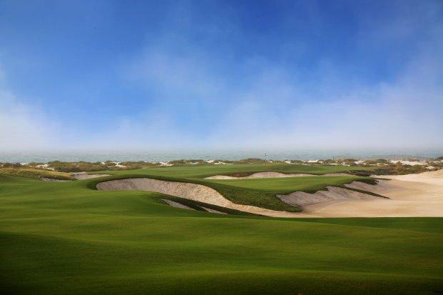 SaadiyatBeach Golf Club 16th Hole
