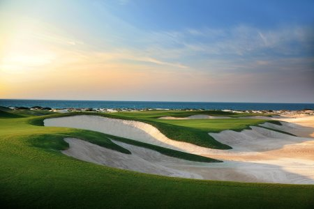 Saadiyat Beach Golf Club's 5th hole