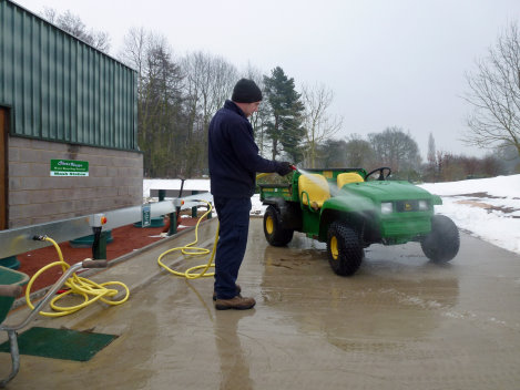Safely below ground a ClearWater system can usually be used all year round