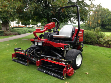 The Reelmaster 3100-D Sidewinder is just one of the revolutionary new products to come out of The Toro Company's CATT programme