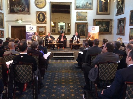 Panel at the Club Inc January Breakfast meeting