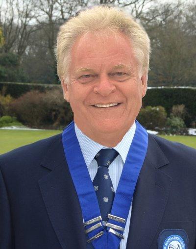 Frank Clapp National Captain GCMA 2013-4 and Secretary Harpenden Golf Club