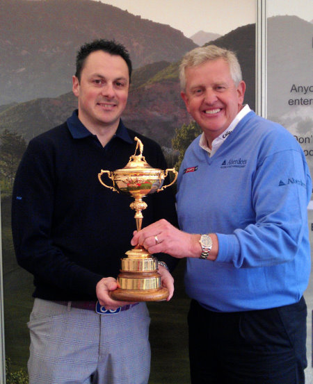 Matt Ackerman, Colin Montgomerie and The Ryder Cup