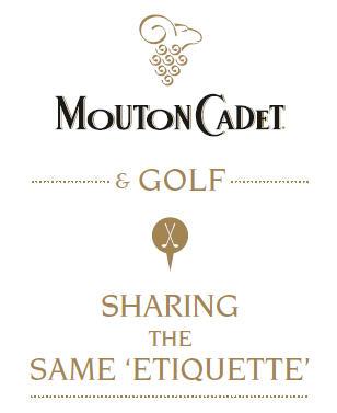 Mouton Cadet and Golf logo