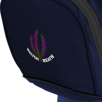 Sun Mountain's crested H2NO bags have proved extremely popular with members at Walton Heath