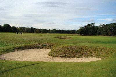 Royal Worlington 3rd hole