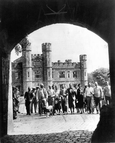 Walker Cup Team visit Leeds Castle 15 May 1975, guests of Sir Adrian Baillie