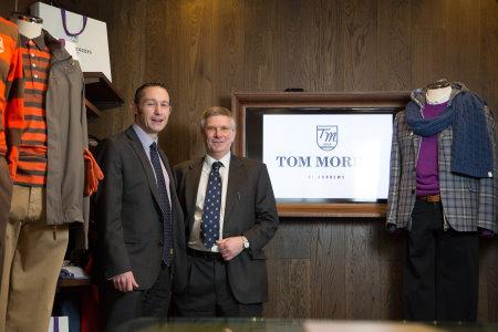 Steven Ireland, Associate Relationship Director at RBS (left) with St Andrews Links Trust Director of Finance Euan MacGregor