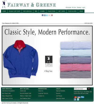 Fairway & Greene website