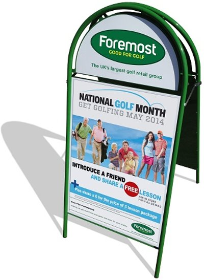 Foremost frame with NGM POS - small
